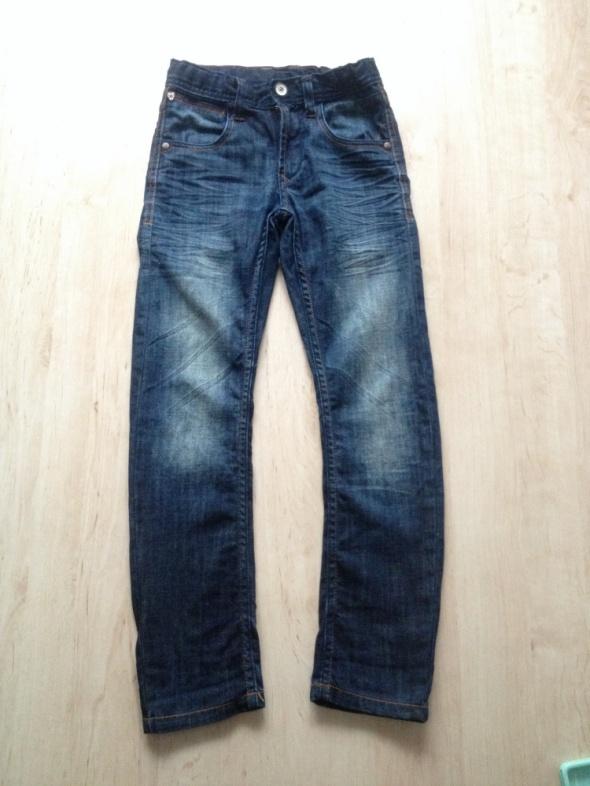 spodnie chłopięce jeans C&A 134...