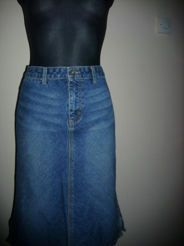 spódniczka jeansowa S na M...
