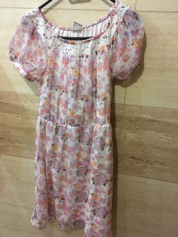 sukienka tiulowa vero moda kwiaty 36 S...