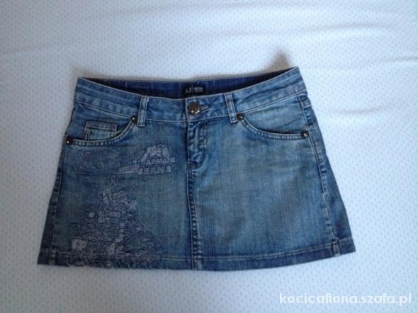 ARMANI JEANS mini spódniczka sexi M