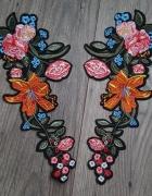 naszywki kwiaty floral...