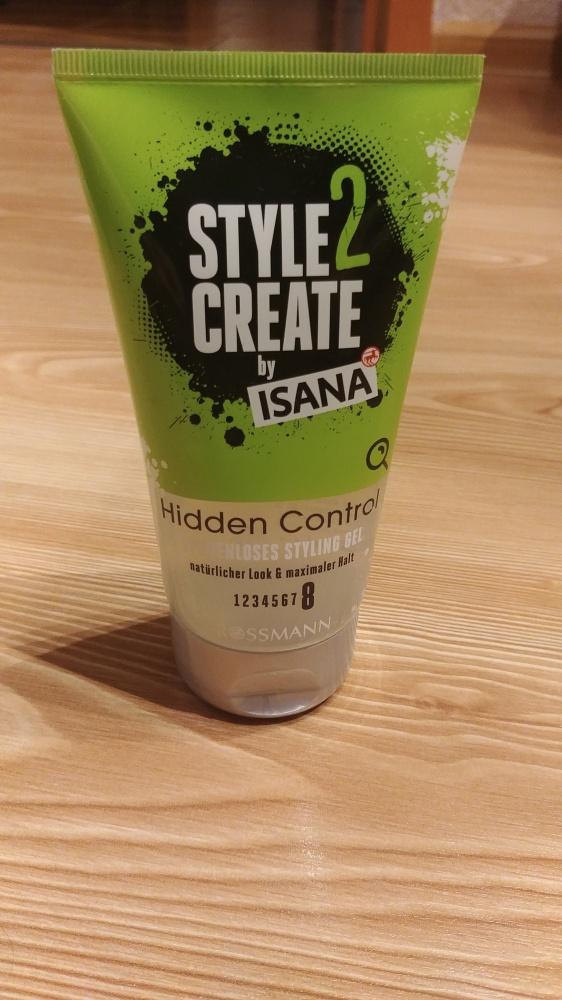 żel stylizujący do włosów 150 ml Isana