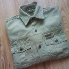 zielona dżinsowa koszula chłopięca 122 128 134