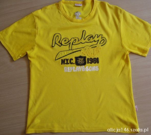 Replay t shirt XL...