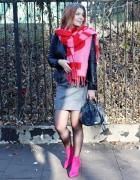 Różowe botki...