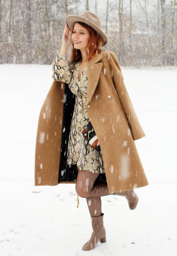 Blogerek Wężowa sukienka