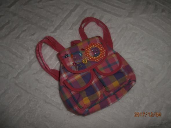 Śliczny plecaczek dla dziewczynki