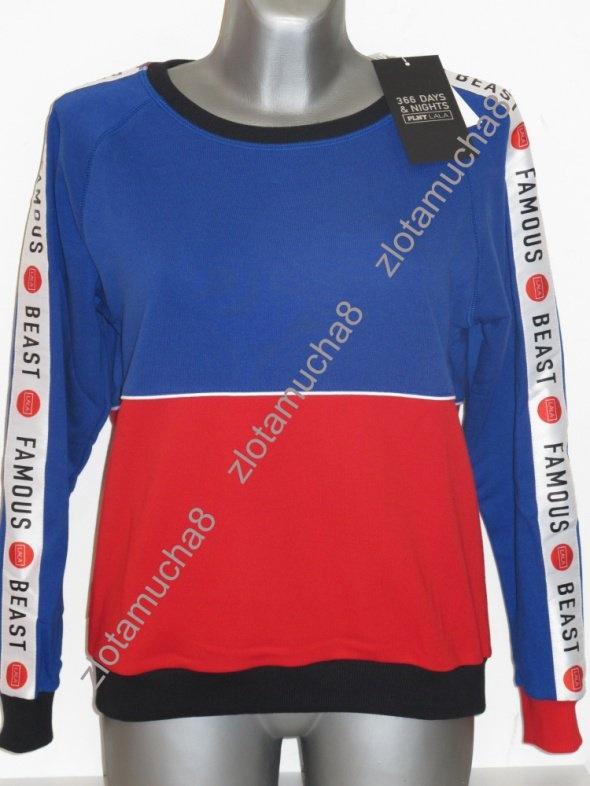 PLNY LALA nowa bluza Famous Beast Navy Sweatshirt...
