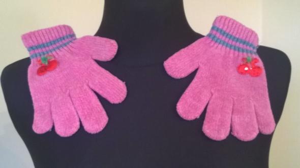 Dodatki Rękawiczki z wisienkami ok 104 5 6lat