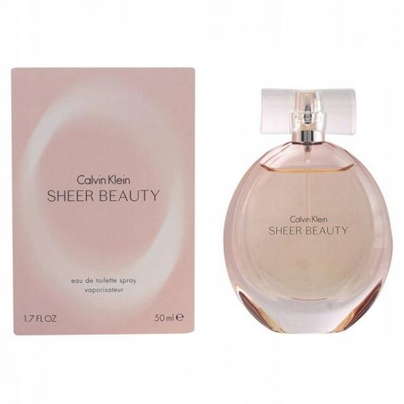 Calvin Klein Sheer Beauty ORYGINALNY Perfum 50ml Nowy karton fo...