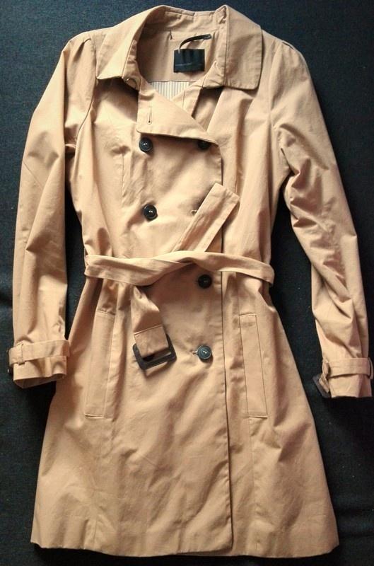 Elegancki płaszcz w kolorze kamel Vero Moda...