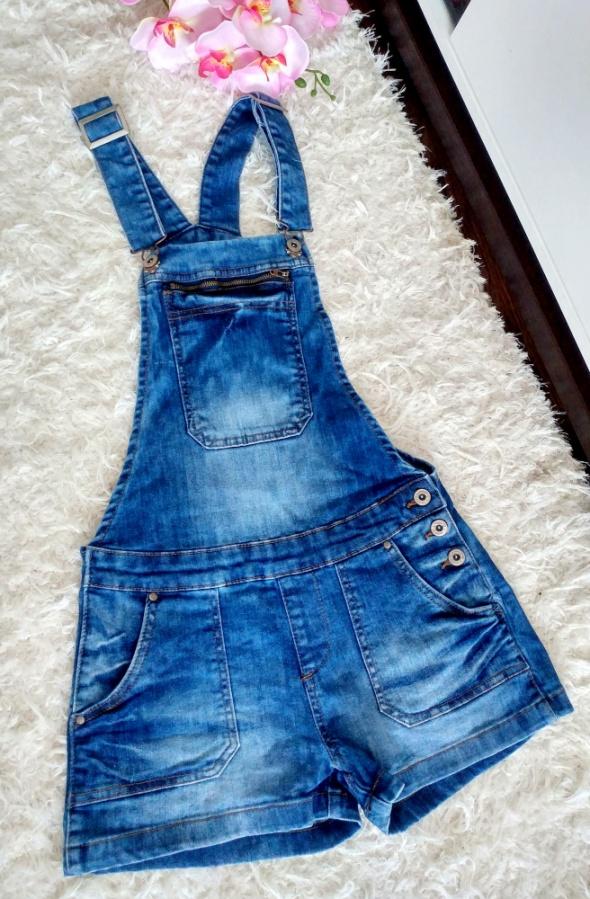 Jeansowe ogrodniczki XS