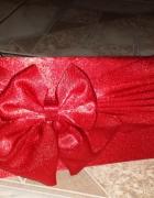 torebka weselna wieczorowa czerwona