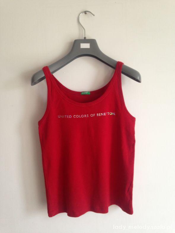 koszulka na ramiączkach S Benetton...
