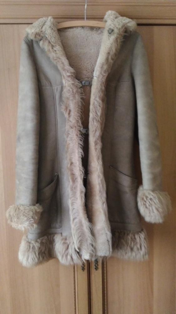 Odzież wierzchnia Kożuch kożuszek zimowy płaszcz skóra rozm 38