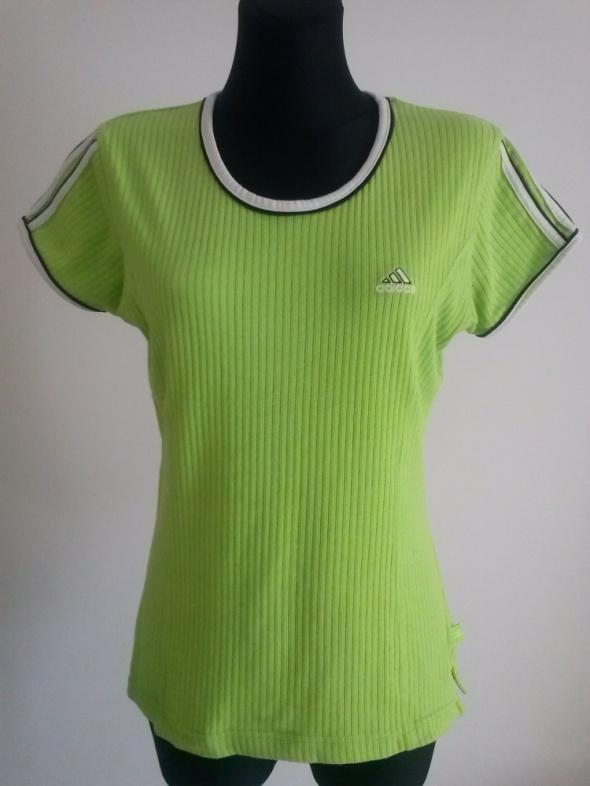 Bluzka adidas ML limonka...