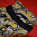 sukienka amisu żółta z kokardą