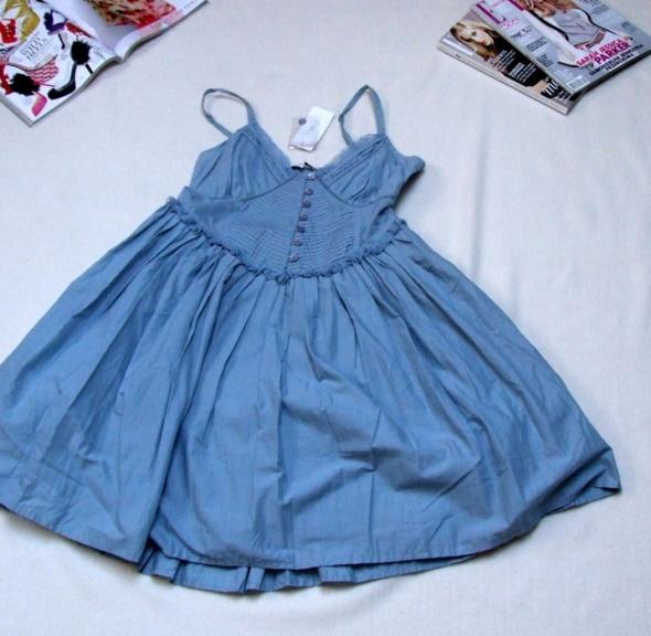 nowa sukienka New LOOK rozkloszowana warstwowa
