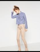 rurki Zara zipy przy nogawce