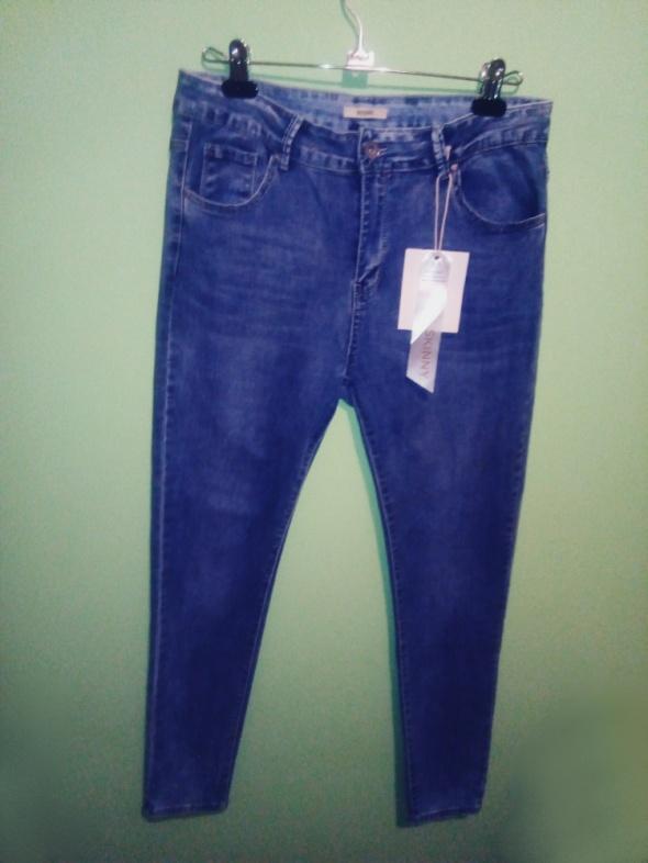 spodnie dżinsy rurki