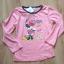 Nowa różowa granatowa piżama dziewczęca 128 Minni
