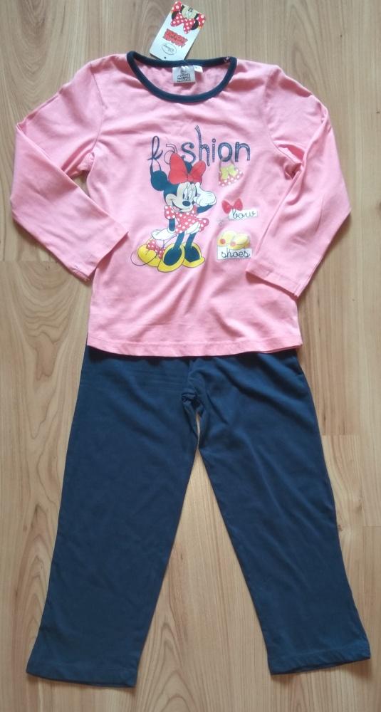 Piżamki Nowa piżama dziewczęca Myszka Minni Disney 116