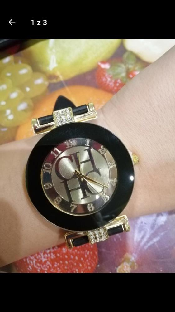 Zegarek czarny Carolina Herrera...