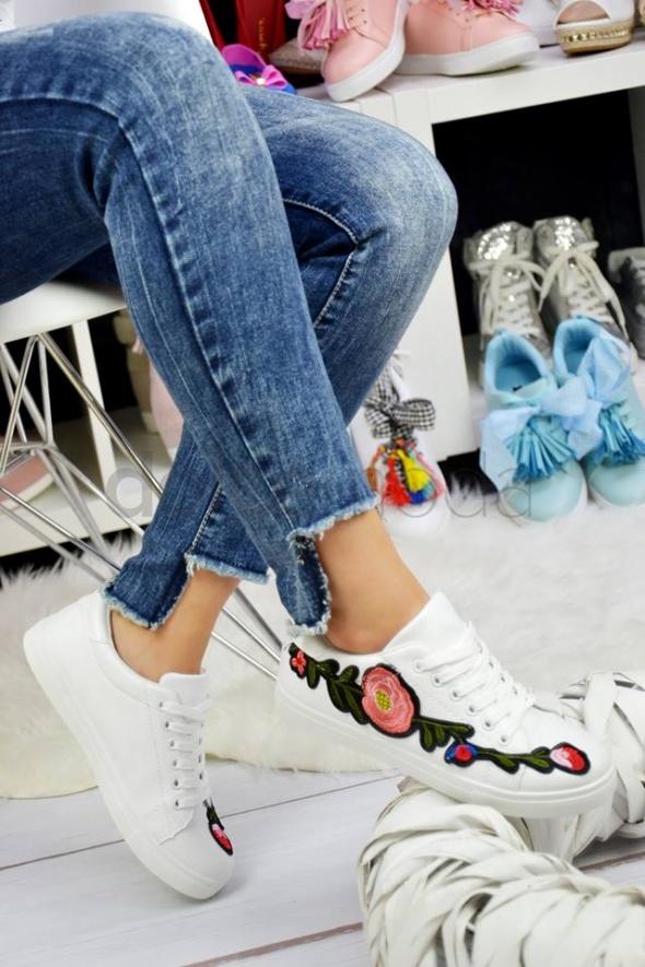 Trampki buty sportowe damskie haftw 36