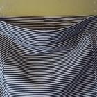 spódnica tuba w paseczki