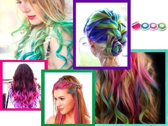 Farba pasemka do włosów