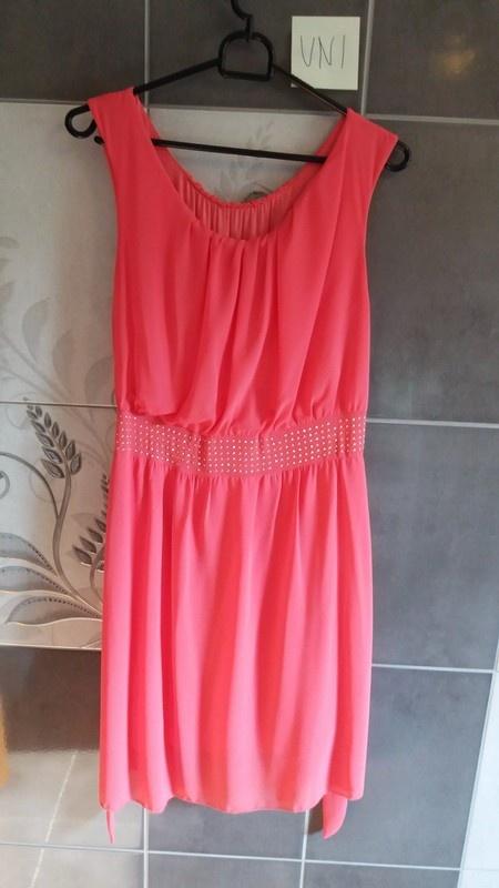 6d7c7b5621 Sukienka malinowa cekiny rozmiar uniwersalny w Suknie i sukienki ...