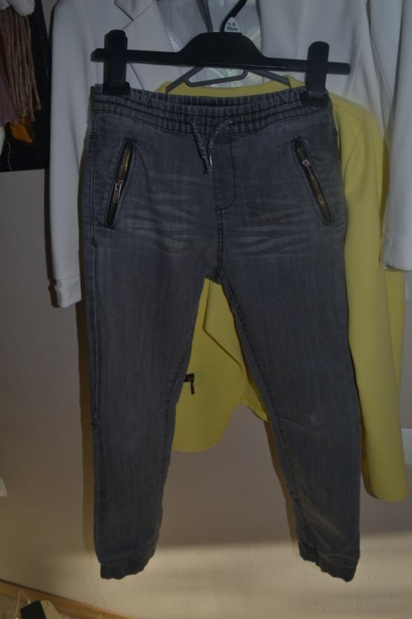 C&A Joggersy jeansowe spodnie 140cm 146cm 9 10 lat...
