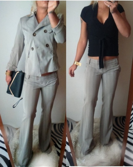 komplet kostium spodnie marynarka tally weijl r s