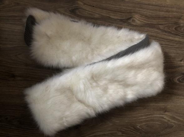 Szalik z futerka szal futerkowy długi na zime