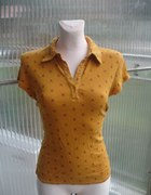 Koszulka polo w serduszko czaszki Reserved XL...
