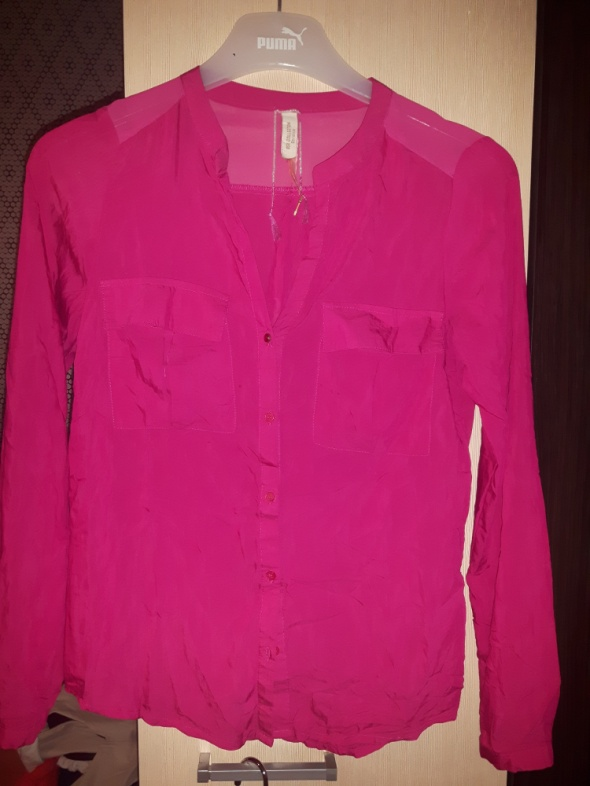 koszula rozowa Bershka...