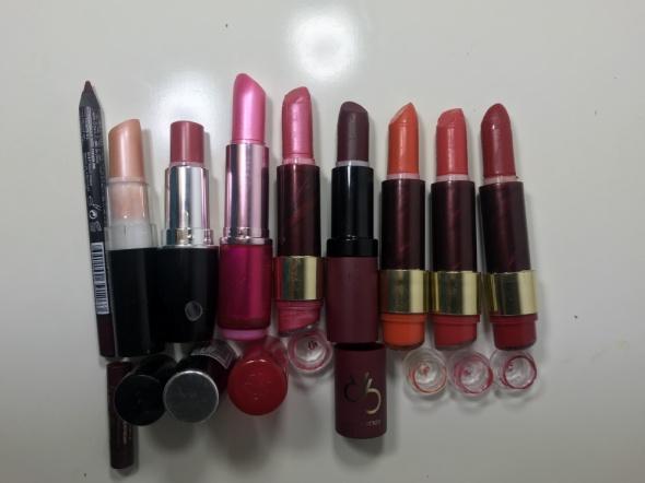 ZESTAW Kolorowe szminki pomadki