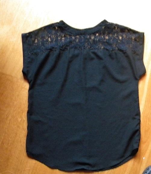 bluzka H&M rozm L XL koronka