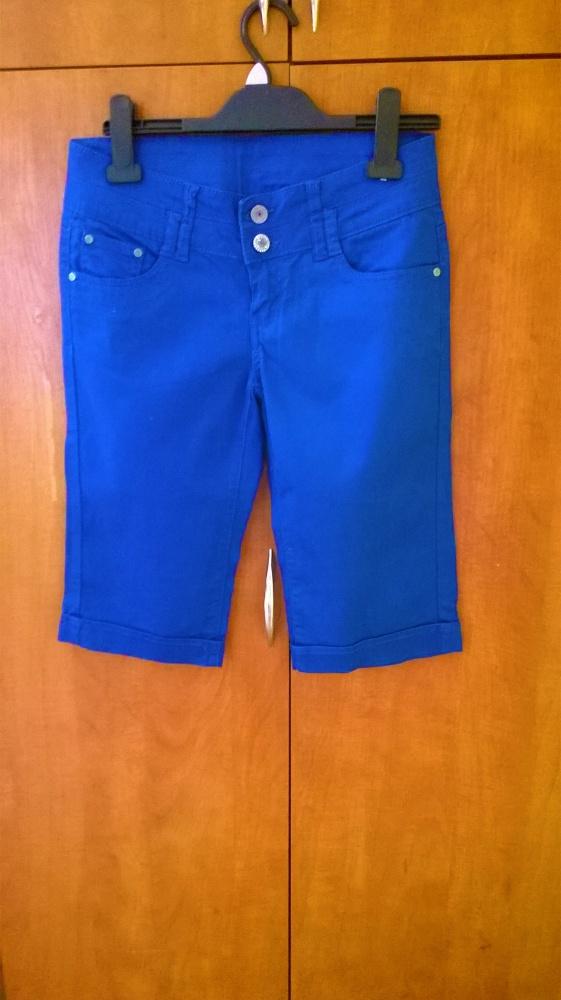 Spodnie przed kolanko eleganckie roz S