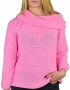 Luźny miękki sweter owersize kolory Uni...