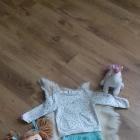 Rurki C&A 80 bluza C&A 80 body Fisher Price 74 bluzka Zara 74 i spodenki 74