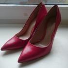 Czerwone szpilki Zara tegoroczna kolekcja 38