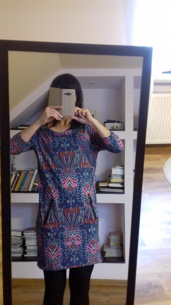 Suknie i sukienki Sukienka Reserved M boho