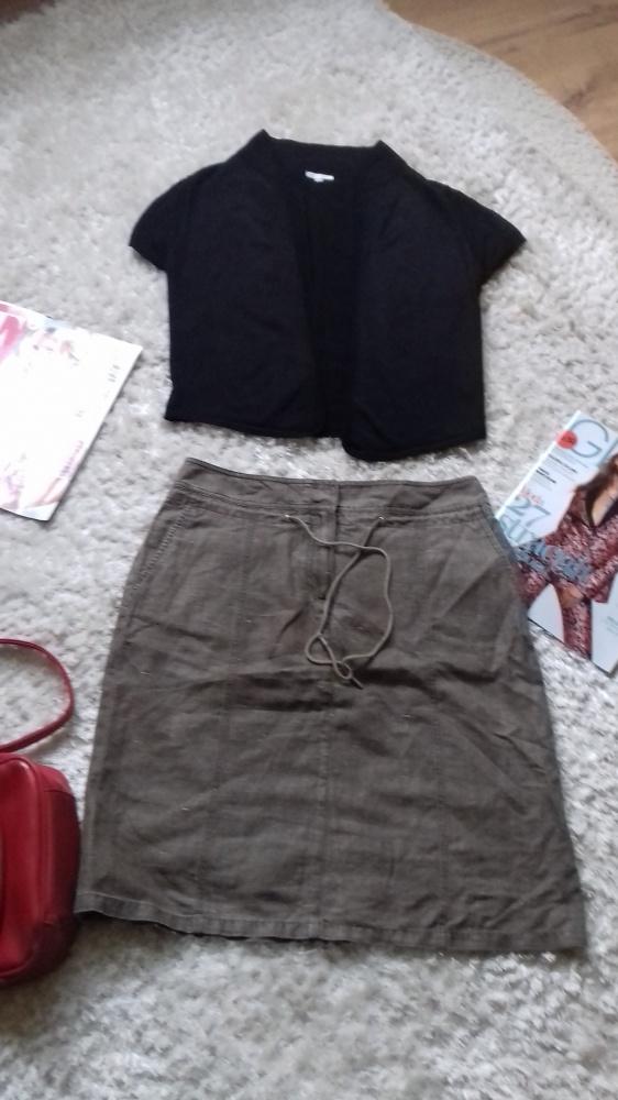 Bolerko bluzka Solar M i spódnica Olsen M