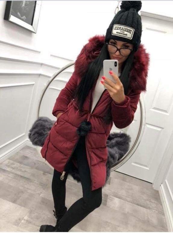 Piękna zimowa kurtka HIT...