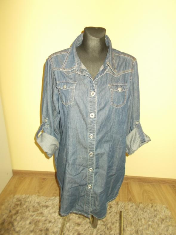 Jeansowa koszula tunika Next 44