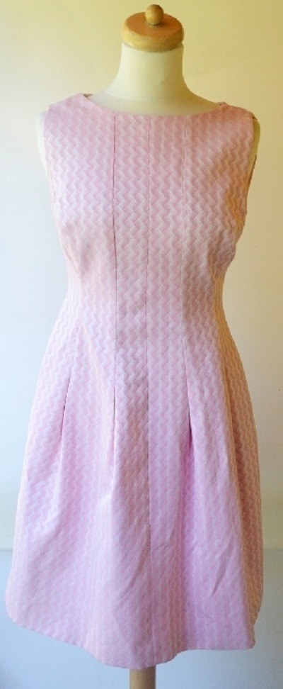 Sukienka Cukierkowy Róż Wesele L 40 Cocomore Elegancka