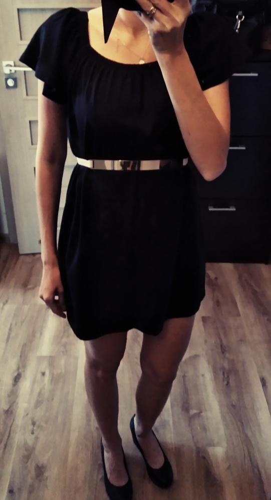 Tunika sukienka asos czarna r 40...