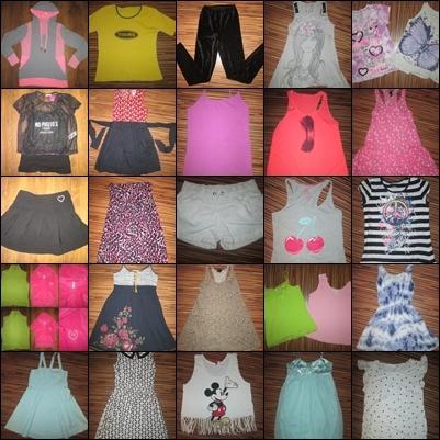 Zestaw ubrań dla dziewczynki 14 16 lat 164 oraz M 28 szt