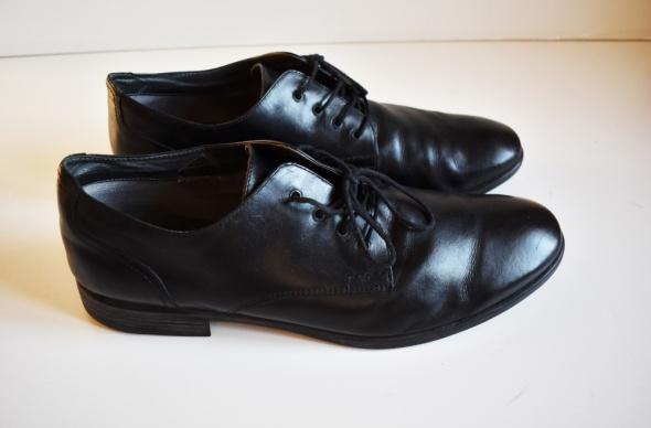 X IT Eleganckie skórzane buty męskie 45